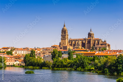 Old City of Salamanca, UNESCO World Heritage. Spain