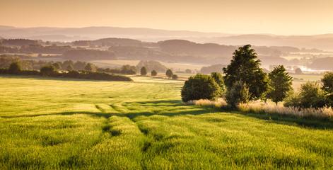 Fototapeta Wiejski Bohemian landscape