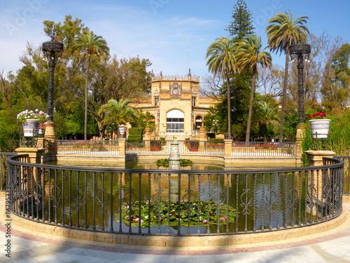 In de dag Architecture andalouse du centre ville de Séville