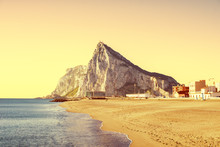 The Rock Of Gibraltar As Seen ...