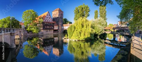 Recess Fitting Panorama Photos Nürnberg