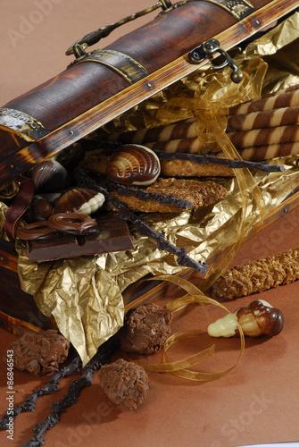 Fototapety, obrazy: mix sweets