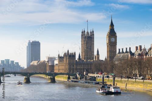 Big Ben, London, England Canvas Print
