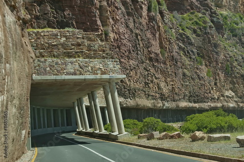 Fotografie, Obraz  Chapman's Peak Drive. Fearful and awesome road