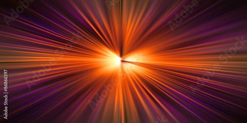Fotografie, Obraz  Esplosione di Luce Infinita