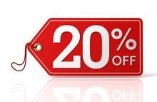 Twenty Percent Off Sale
