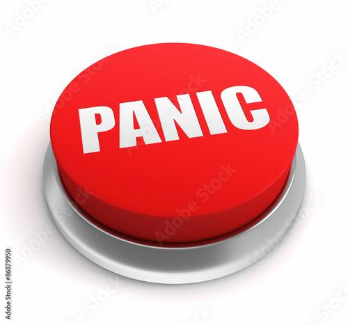 Cuadros en Lienzo panic button