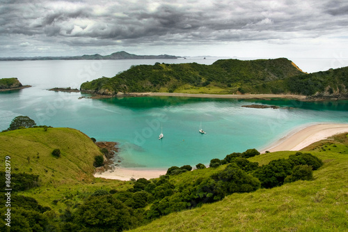 Spoed Foto op Canvas Nieuw Zeeland Bay of islands, New Zealand