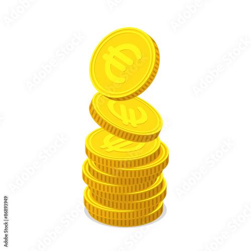Fotografía  Coin stack