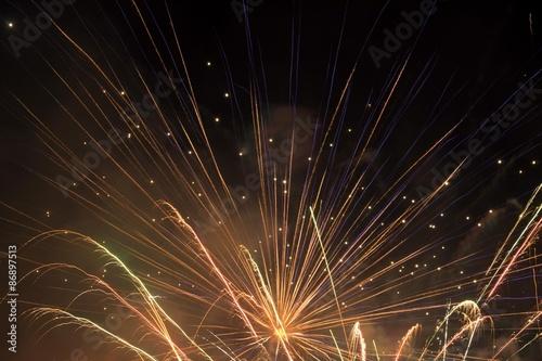 Celebration Fireworks Poster