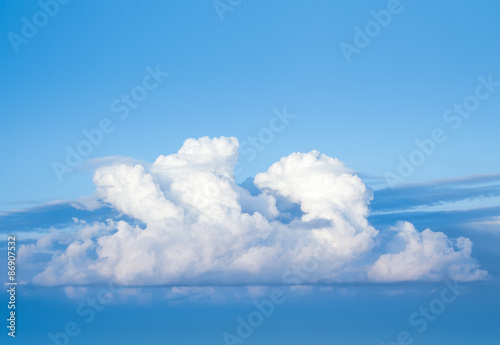 Canvas Print - Cloud in the sky