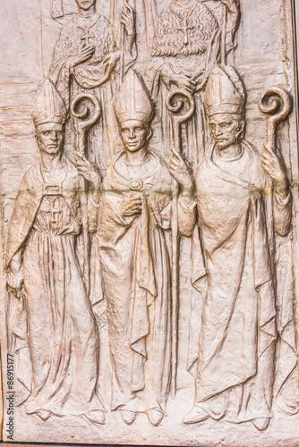Foto op Plexiglas Artistiek mon. Basilica of the National Vow (Basilica del Voto Nacional), a Roman Catholic church, Quito, Ecuador.