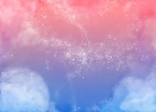 ふわふわピンクの空 Fluffy Pink Sky