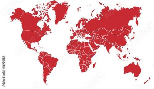 carte du monde 12072015