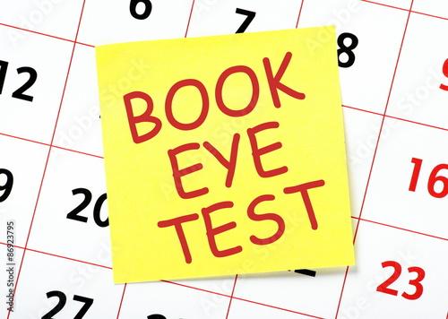 Image result for eye test book