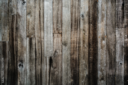 Poster Retro Old vintage wood textured and background