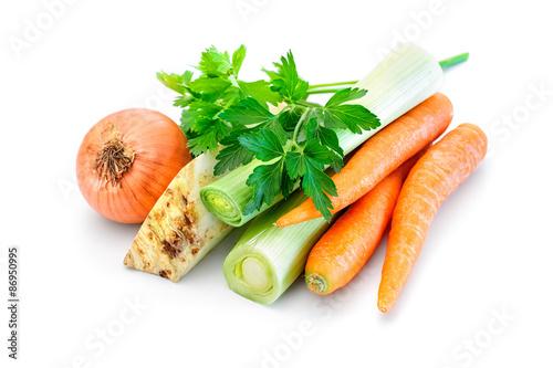 Obraz Soup vegetable mix - fototapety do salonu