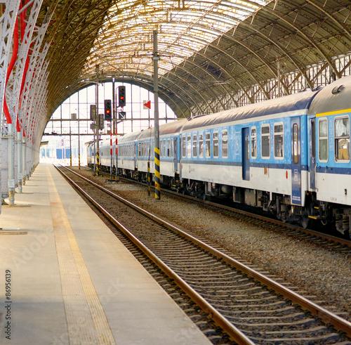 Fototapety, obrazy: Railway