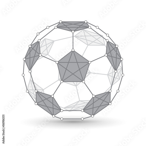 Soccer ball Wallpaper Mural