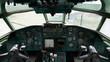 Old aircraft panel
