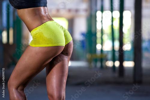 Zdjęcie XXL Seksowny tyłek fitness