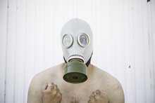 Man With Gas Chamber