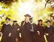 canvas print picture - Graduation Student Commencement University Degree Concept