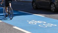 Cyclist On A Cycle Superhighwa...