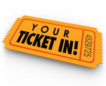 Your Ticket In Guest Access Invitation Special Entry Pass