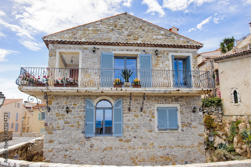 Fotografie, Obraz  Old town of Antibes, Cote d'Azur, France