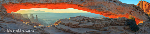 Spoed Foto op Canvas Cappuccino Arches National Park