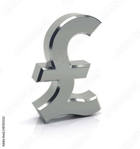 British Pound Sign Symbol Buy This Stock Illustration And