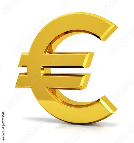 Fotografie, Obraz  Euro Sign (Symbol)