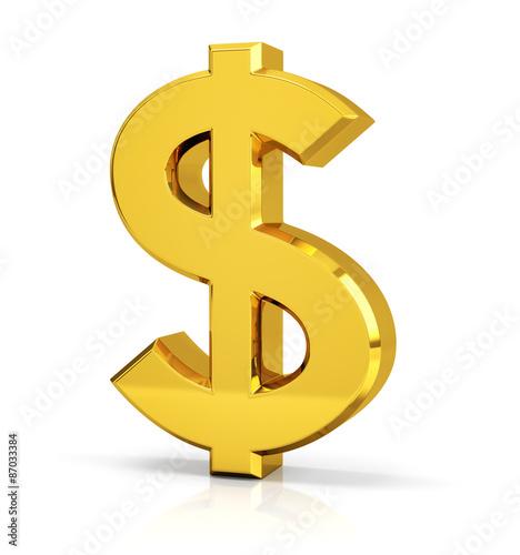Fotografia, Obraz  Dollar Sign (Symbol)