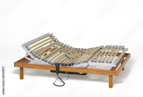 Fotografie, Obraz  Motorized adjustable bed