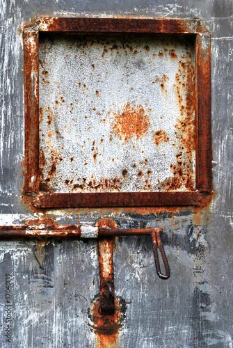 Fotografie, Obraz  textura de metal oxidado