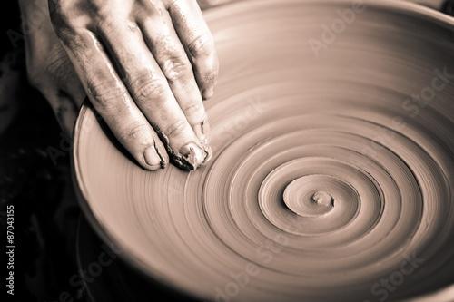 Slika na platnu Pottery, Sculptor, Potter.