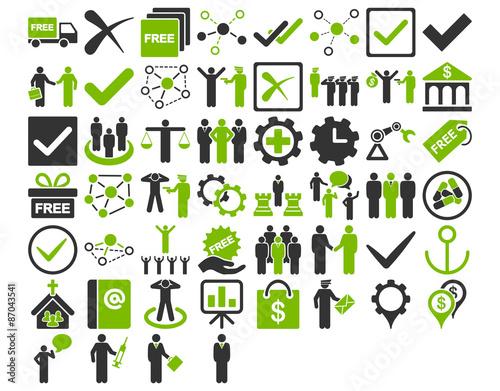 Fototapety, obrazy: Business Icon Set