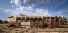 Chernobyl - Abandoned Bus In A...