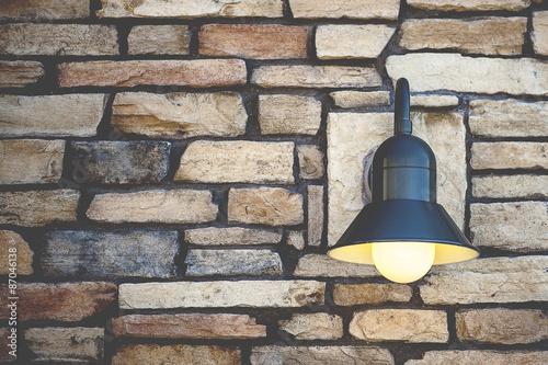 Fotografie, Obraz  Retro Lamp