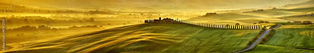 Fototapeta HI res mega pixel  Tuscany hills panorama