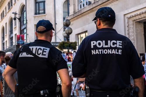 Fotografie, Obraz  Policie národních
