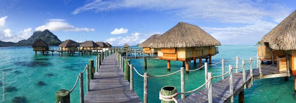 Fototapeta Urlaub in Tahiti