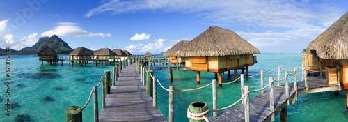 Fotografie, Obraz Urlaub in Tahiti