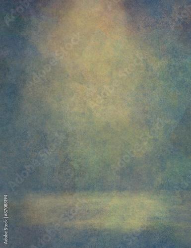 Türaufkleber Metall Grunge splatter paint colorful background
