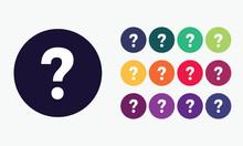 Vector Question Icon.