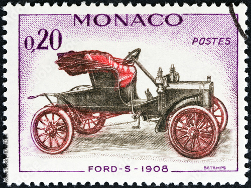 фотография  Ford-S car of 1908 (Monaco 1961)
