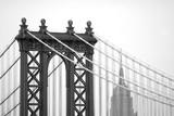 Manhattan Bridge i Empire State Building - 87142390