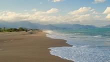 Heaven In Brazil - Caraguatatuba Beach Landscape