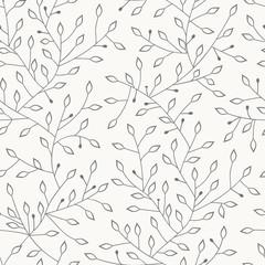FototapetaFloral seamless pattern